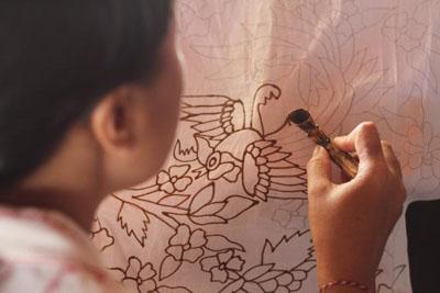 tohpati bali batik textile fabric