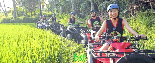bali jungle atv ride adventure