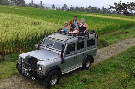 bali jeep rental off road