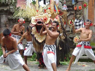barong dance bali indonesia