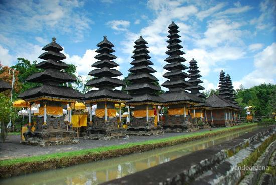 taman ayun mengwi bali indonesia
