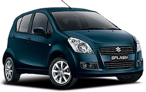 bali cheap rent car suzuki splash